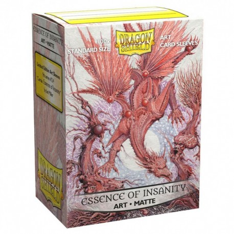Dragon Shield - 100 Standard Sleeves - Matte Art Sleeves - Essence of Insanity