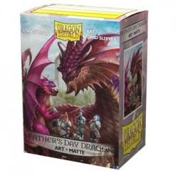Dragon Shield - 100 Protège-cartes Standard - Matte Art Sleeves - Father's Day Dragon