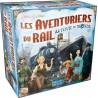 Les Aventuriers du Rail Autour du Monde - Boîte abîmée (FR)