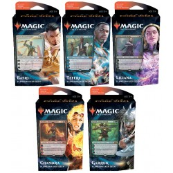 Core 2021 : Set of 5 Planeswalker Decks