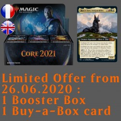 Core 2021 - Booster Box and Buy-a-Box card