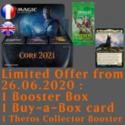 Core 2021 - Booster Box with Buy-a-Box and Theros Beyond Death Collector Booster