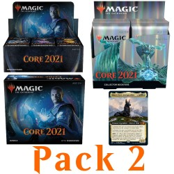 Core 2021 - Pack 2 Buy-a-Box - Booster Box, Bundle, Collector Booster Box and Buy-a-Box card