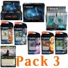Edition 2021 - Pack 3 Buy-a-Box - Boîte Boosters, Bundle, 5 decks Planeswalker, Boîte Collector Boosters et carte Buy-a-Box