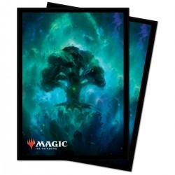 Ultra Pro - 100 Protège-cartes Standard - Celestial - Forest