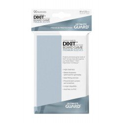 Premium Soft Sleeves Dixit Board Game Size Ultimate Guard 81x122mm (x90)