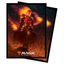 Ultra Pro - 100 Protège-cartes Standard - Edition 2021 - Chandra, Heart of Fire