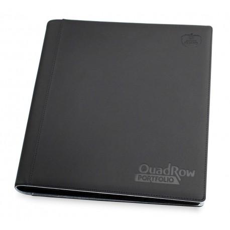 Ultimate Guard - XenoSkin Binder - QuadRow Portfolio 12-Pocket (Black)