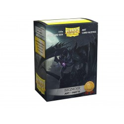 Dragon Shield - 100 Protège-cartes Standard - Matte Art Sleeves - Signoir