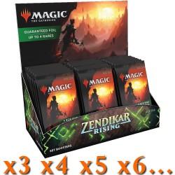 Renaissance de Zendikar - Boîte de 30 Boosters d'Extension (x3 ou Plus) (EN)