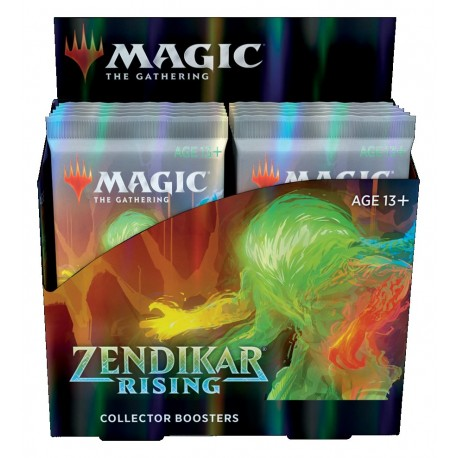 Zendikar Rising - Collector Boosters Box