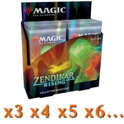 Zendikar Rising - Collector Boosters Box (x3 or More)