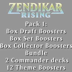 Zendikar Rising - Pack 1 - Full Pack - 6 Products