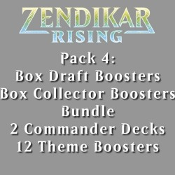 Zendikar Rising - Pack 4 - 5 Products (2 Boxes)
