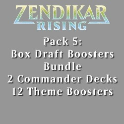 Zendikar Rising - Pack 5 - 4 Products (1 Box)