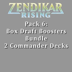 Zendikar Rising - Pack 6 - 3 Products (1 Box)