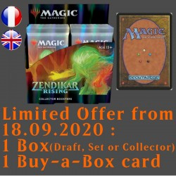 Zendikar Rising - Collector Boosters Box with Buy-a-Box