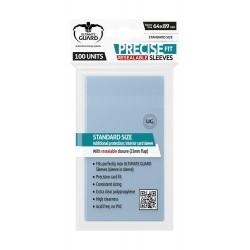 Ultimate Guard - 100 Protège-cartes Standard - Precise-Fit Sleeves Refermables