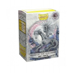 Dragon Shield - 100 Standard Sleeves - Matte Art Sleeves - Word of the God Hand