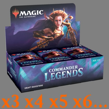 Commander Legends - Draft Booster Box (X3 or more)
