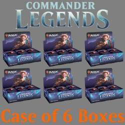 Commander Legends - Case of 6 Draft Boosters Boxes
