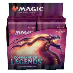 Commander Legends - Collector Boosters Box