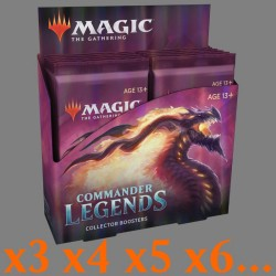 Commander Legends - Collector Boosters Box (x3 or more)