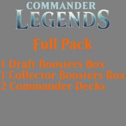 Commander Légendes - Pack Complet (Draft, Collector et 2 Decks)