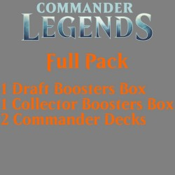 Commander Legends - Full Pack (Draft, Collector and 2 Decks)