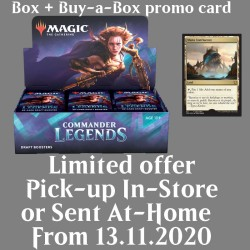 Commander Legends - Draft Boosters Box and Buy-a-Box