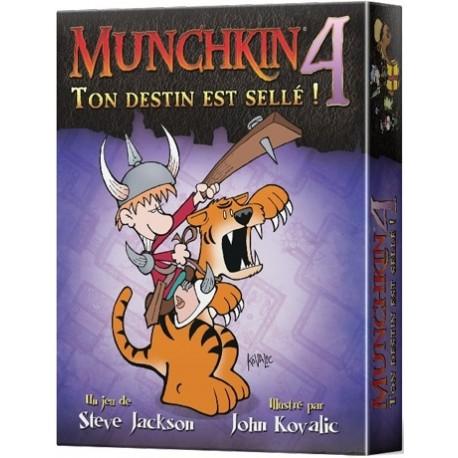 Munchkin 4: Ton destin est sellé (FR)