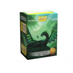 Dragon Shield - 100 Standard Sleeves - Matte Art Sleeves - Rayalda
