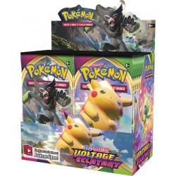 Pokémon - Épée et Bouclier - Voltage Éclatant - Boîte de 36 Boosters (FR)
