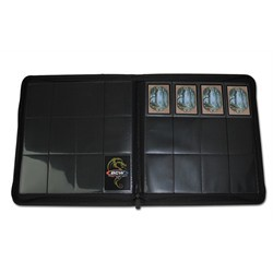 Portfolio 12 Cases Playset BCW Z-Folio Noir