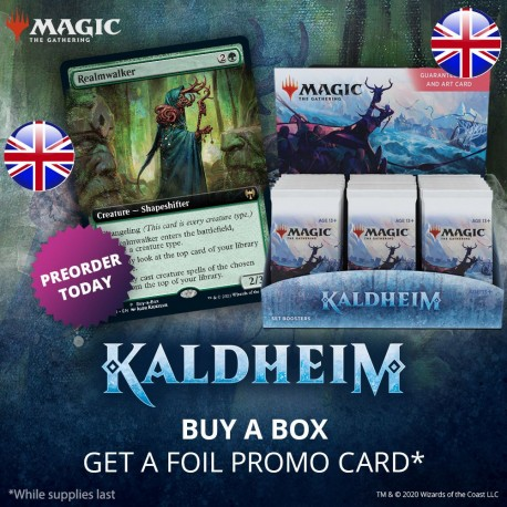 Kaldheim - Set Booster Box with Buy-a-Box Card