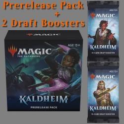 Kaldheim - Pack d'Avant Première avec 2 boosters de Draft (EN)