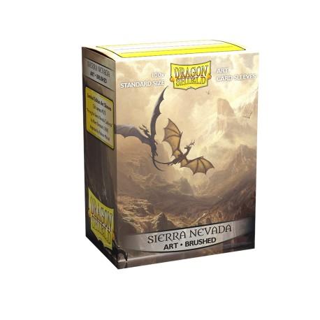 Dragon Shield - 100 Standard Sleeves - Bruhed Art Sleeves - Among The Sierra Nevada
