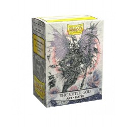 Dragon Shield - 100 Standard Sleeves - Matte Art Sleeves - The Jester God