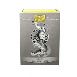 Dragon Shield - 100 Standard Sleeves - Matte Art Sleeves - Loki