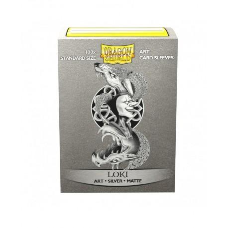 Dragon Shield - 100 Standard Sleeves - Matte Art Sleeves - Loki