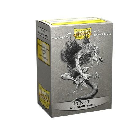 Dragon Shield - 100 Standard Sleeves - Matte Art Sleeves - Fenrir