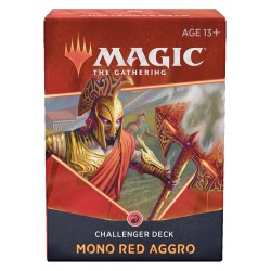 Challenger Deck 2021 - Aggro mono rouge