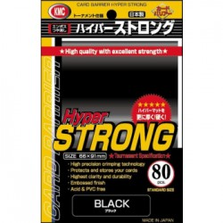 KMC - 80 Standard Sleeves - Hyper Strong 80