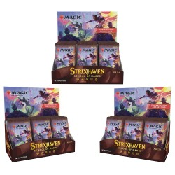Strixhaven: School of Mages - 3 Set Booster Boxes