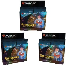 Strixhaven: School of Mages - 3 Collector Booster Boxes