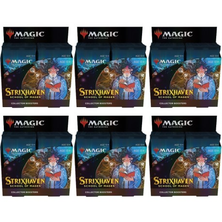 Strixhaven: School of Mages - Case of 6 Collector Booster Boxes