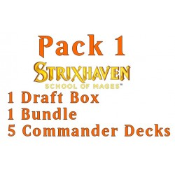 Strixhaven: School of Mages - Pack 1 (Draft, Bundle, 5 decks)
