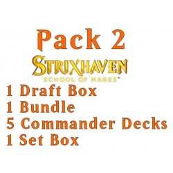 Strixhaven: School of Mages - Pack 2 (Set, Draft, Bundle, 5 decks)