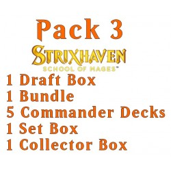 Strixhaven: School of Mages - Pack 3 (Collector, Set, Draft, Bundle, 5 decks)
