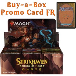 Strixhaven: School of Mages - Draft Booster Box and Buy-a-Box Card